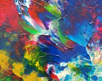 Garden Dream Original Abstract Painting