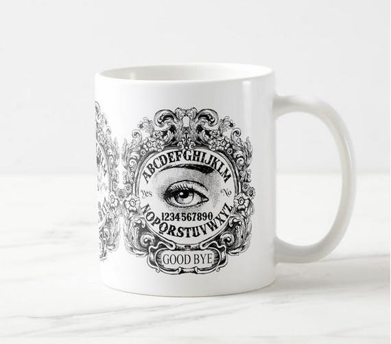 Mystic Eye Ouija Board Coffee Mug