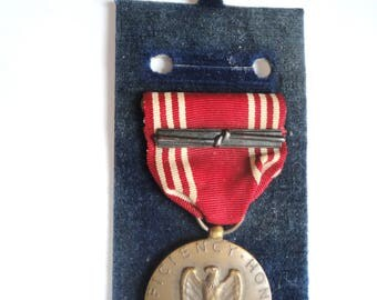 Vintage WWII Good Conduct Award Medal