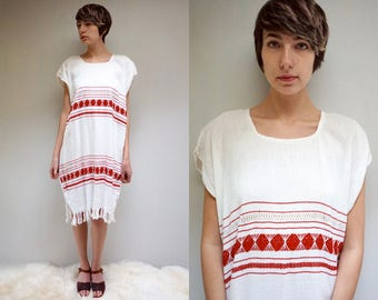 Mexican Dress  // Tunic Dress  //  THE IKO