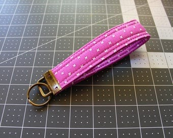 Purple Lecien Little X Key Fob
