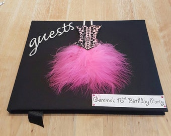 Birthday Party Guest Book