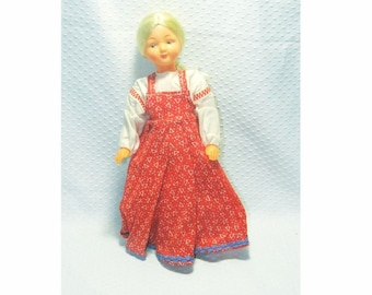Collectible Russian Plastic Doll