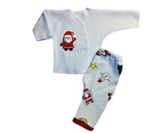 Santa Claus Pajamas Etsy