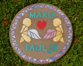 RESERVED LISTING FOR Mark Fretz - Custom Tribute / Memorial Stone for a Loved One - Stepping Stone