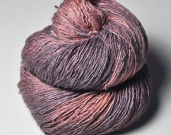 Withering pitcher plant- Tussah Silk Fingering Yarn