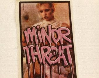 MINOR THREAT Raw Edge Patch by Mel1