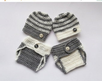 ON SALE 15% SALE Newborn Baby Twin Boys Outfits _NewBorn Baby  Twin Outfits _  Baby Twins Hospital Outfits_ Photography Outfit Baby Twins
