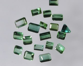 10.5 cts blue green tourmaline mixed lot afghanistan