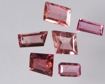 4.25 cts hot pink tourmaline mixed brazil