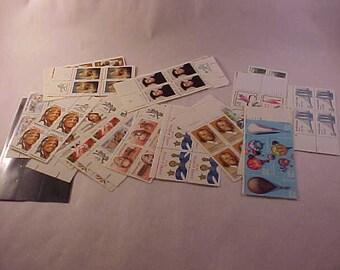 US Postage Stamps 25 Plate Blocks of 4 Stamps Each Unused Postage