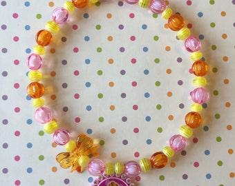Bubble Guppies Deema Stretch Necklace