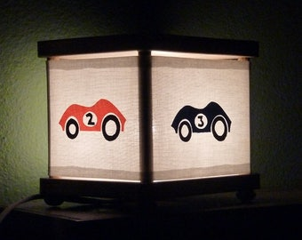 Race Car Night Light Cars Nightlight Decor