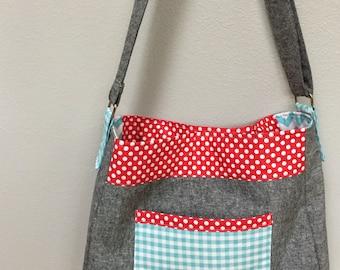 Made to Order Tote Bag, Diaper Bag, Mom Bag, Interior Pockets, Shoulder Bag, Large Tote, Mother's Day Gift, Baby Shower Gift, New Mom Gift