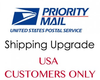 Shipping Upgrade to PRIORITY Mail / For US Customers ONLY / Add to Your Jewelry Order