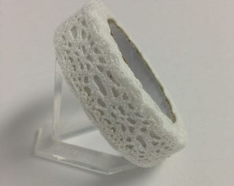 White Cotton Lace Tape