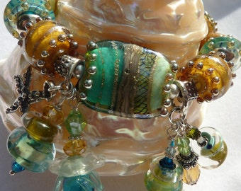 Lampwork Bracelet SEA SHORE