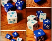 Snowflake Dice / Winter D...