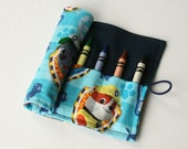 Crayon Caddy Roll Up - Paw Patrol (8 Crayons Included) - Ready to Ship!