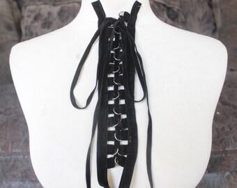 Cute  lace   applique  1 piece listing  black     color