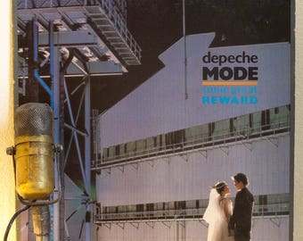 "ON SALE Depeche Mode Vinyl LP Record Vintage 1980s Synthpop New Wave Alternative Dance Martin Gore ""Some Great Reward""(Original 1984 Sire Re"
