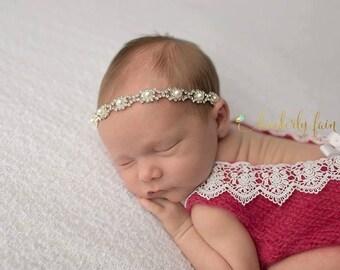 Newborn Onesie - Angora romper - open back onesie - newborn romper - lace trimmed romper - angora romper