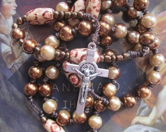 catholic rosary,corded rosary,knotted rosary,rosaries,cross,religious,rosary,rosaries