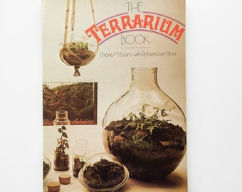 The Terrarium Book, 1973, vintage