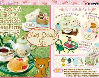 Re-ment Rilakkuma British Tea Time/Rement Rilakkuma British Tea Time/Re-ment Rilakkuma Tea Time/Miniature tea set