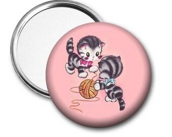 Kittens Pocket Mirror