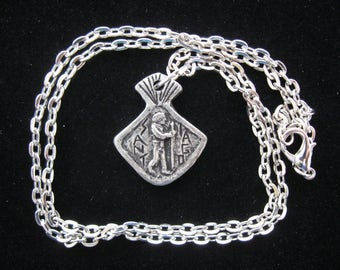 St James, Handmade Necklace, Patron Pilgrims, Walkers, Runners