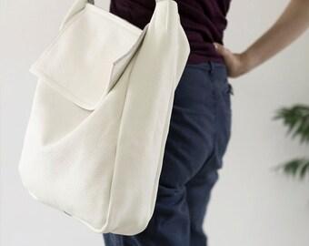 FOKS FORM Tote Bag 02, Minimal leather tote bag, handbag, shoulder bag