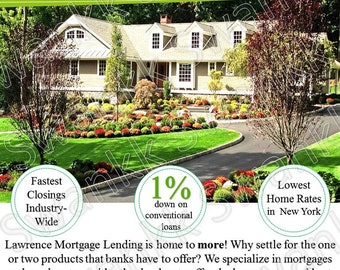 Real Estate or Mortgage Marketing Flyer - Personalized