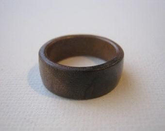 Walnut Burl Rings