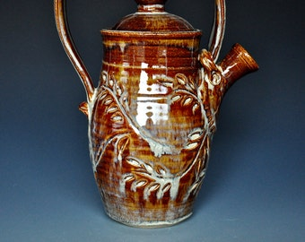 Ceramic Teapot Handmade Teapot. Pottery Stoneware A