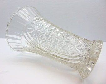 Vintage Large Glass Vase