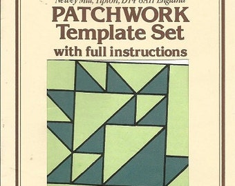 """The Quiltery Patchwork Template Set """"Grape Basket"""""""