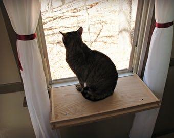 Cat Window Perch - Cat Shelf - Cat Bed