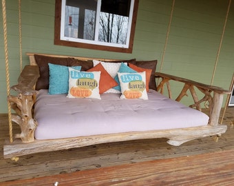 Oversize Cedar Porch Swing-Queen