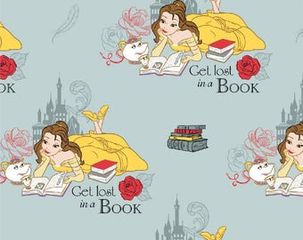 Beauty and the Beast Lost in a Book Skirt