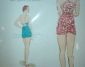 1930's Beach Romper Decades of Style Pattern