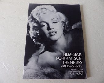 Book: Film-Star Portraits of the Fifties. 163 Glamor Photos of all the Major Film Stars of the Fifties