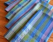 Handwoven Towel Set of 6, Organic GOTS Certified Handwoven Towels, Series Themed Woven Towel Set, Handwoven Towels, Artisan OAK Towel Set,