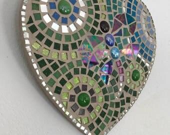Dragonfly Heart Mosaic