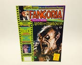 Vintage Magazine Fangoria #115 August 1992 Army of Darkness Brain Dead