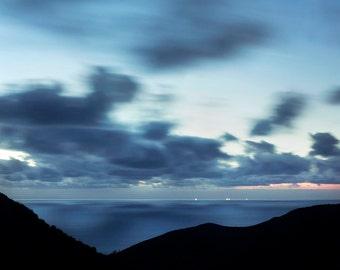 Silver Vistas - Fine Art Photograph, Ocean, Pacific, Travel Photography, California, Coast, Wall Art