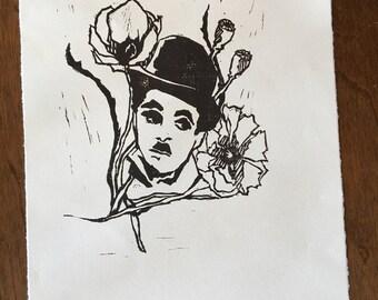 Nothing Is Permanent - Original Art - Hand Pressed Linoleum Cut Art Print