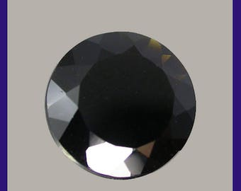 METEORITE / Tektite (33836)  * * *  11.8 mm!  Exotic! Black / Dark Brown Tektite - Laos Mine - From Space and Back!