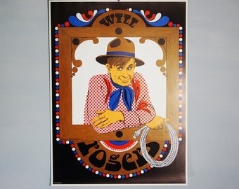 Original 1968 Psychedelic Pop Art Poster