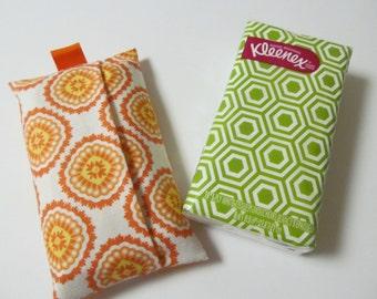 Tissue Case/Orange Flower